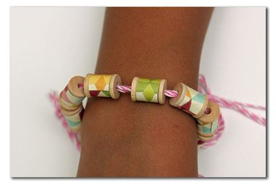 Project-Summer-Spool Bracelet CU