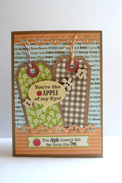 Card-Carole-You're the apple of my eye!