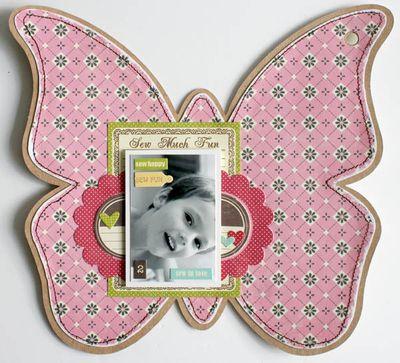 Mini album friends (butterfly) 006