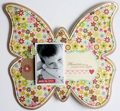 Mini album friends (butterfly) 007