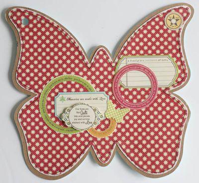 Mini album friends (butterfly) 015