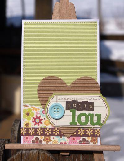 Card-Klere-Jolie Lou