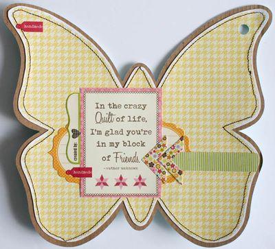 Mini album friends (butterfly) 004