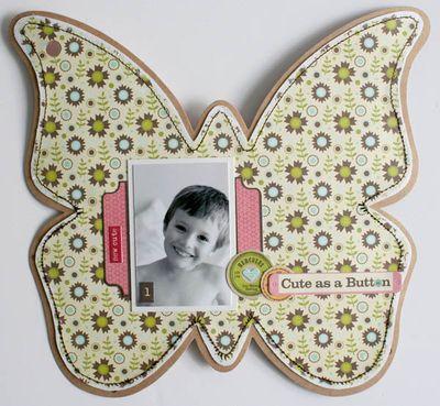 Mini album friends (butterfly) 005