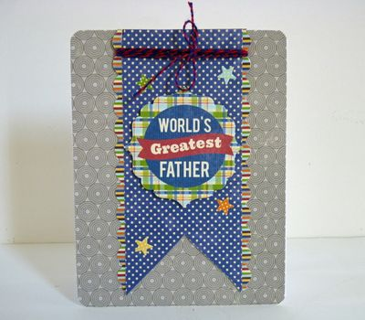 Card-Mary Pat-Greatest Father