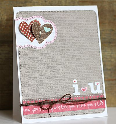 Card-Becky-I Love You