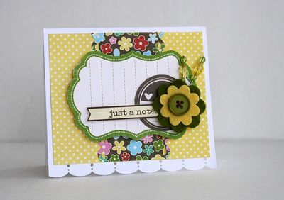 Card-Sarah Webb-Just a note