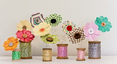 Project-Teka-Spool Flowers