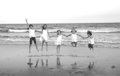 Myrtle_Girls Jumping__edit_sm_bw