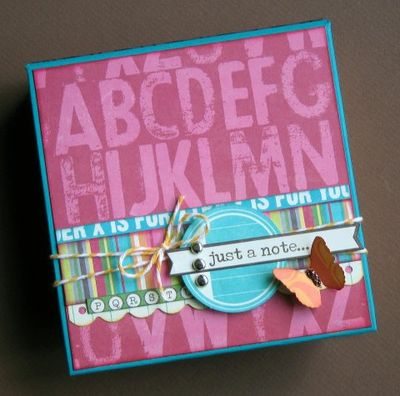 Project-Steffanie Seiler-Just A Note Note Box