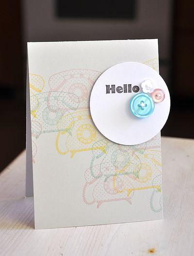 Card-Maile-Hello Telephone