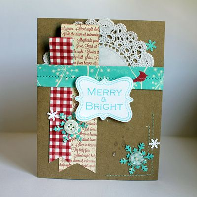 Card-Mel-Merry & Bright