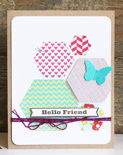 Card-Becky-Hello Friend