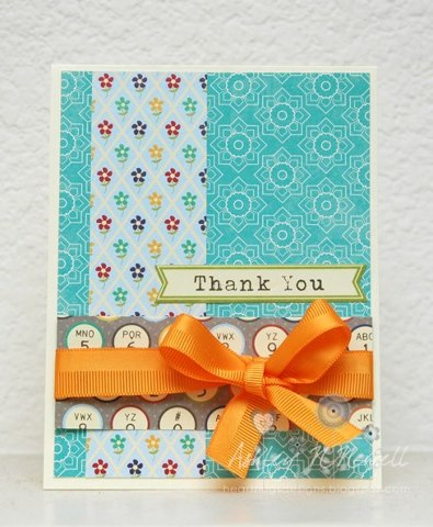 Ashley Nguyen Newell-Thank You Card