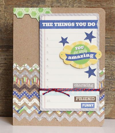 Card-Becky-The Things You Do