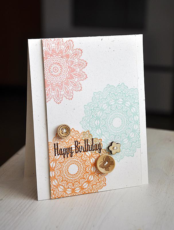 Card-Maile-Happy Birthday Doily