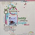 Melinda - Dec - Jingle Bells Layout