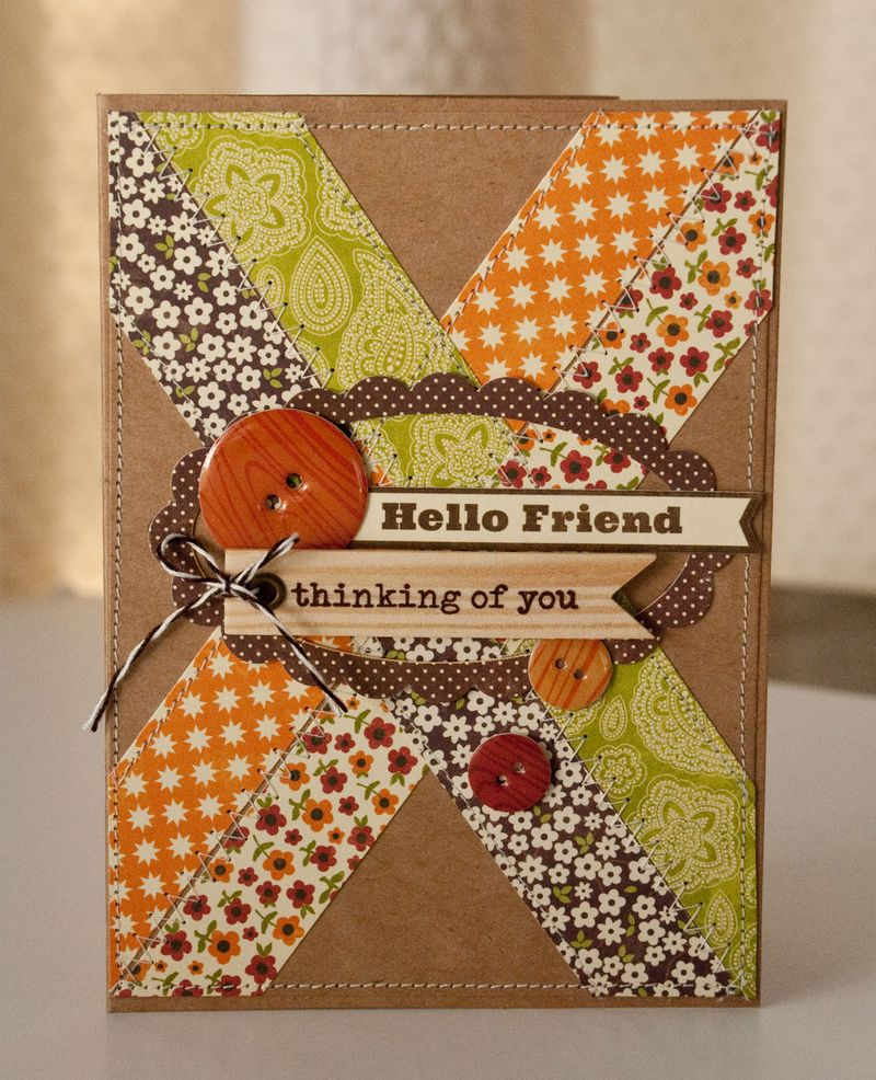 Valerie-Hello Friend Card