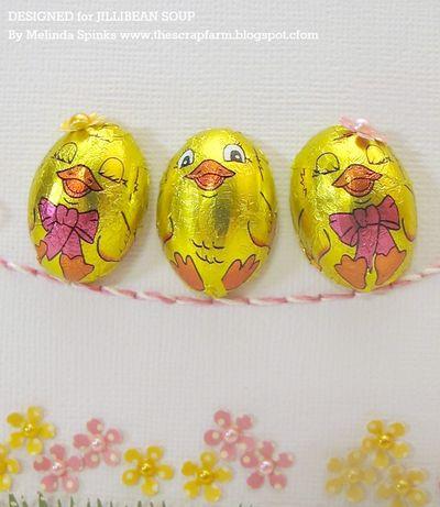 Melinda - JBS - Happy Easter Card closeup