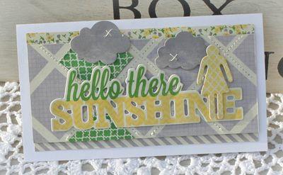 Hello there sunshine danni reid