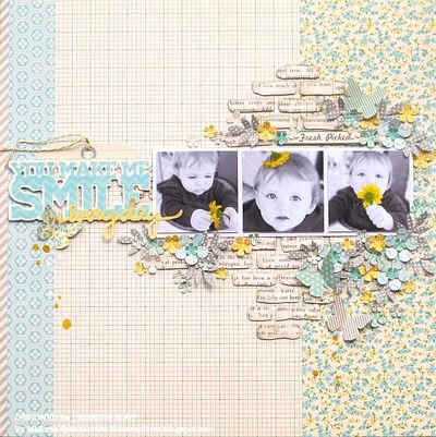 Melinda - JBS - MAR - You Make Me Smile Layout