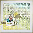 Melinda - JBS - March - You Love Life Layout
