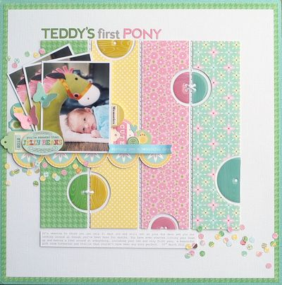 Melinda Spinks - Teddys first Pony Layout