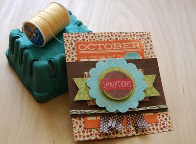 October-Card