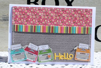 Danni Reid-world card making day hello card
