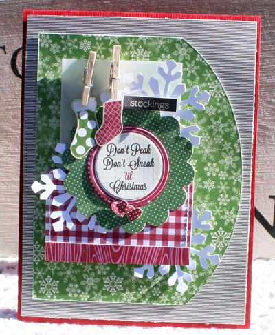 Don't peek card danni reid