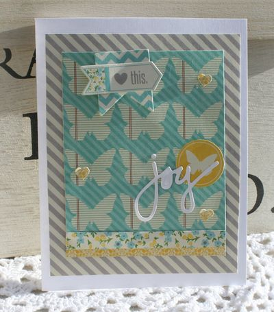 Love this joy card danni reid