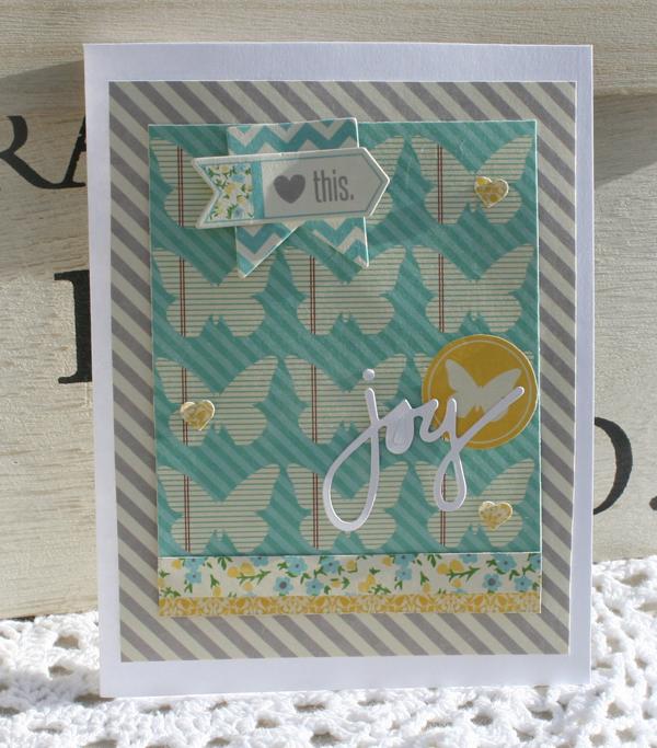 Love this joy card danni reid