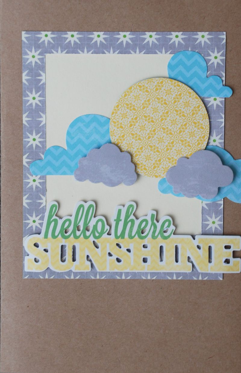 Ancich GDT - Card hello there sunshine