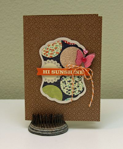 Card-Summer-Hello Sunshine