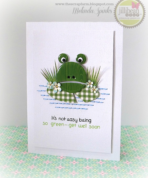 Card-Melinda-It's Not Easy Being Green
