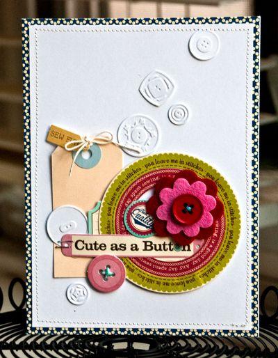 Card-Valerie-Cute As A Button