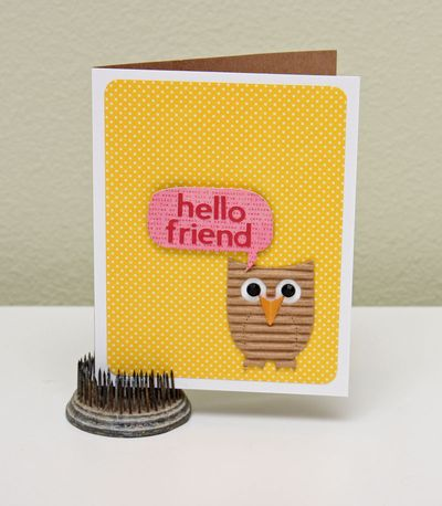 Card-Summer-Hello Friend