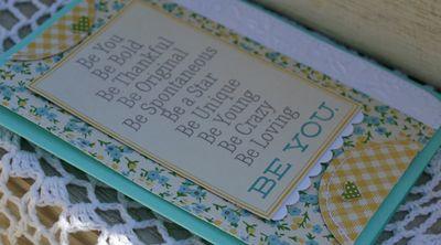 April be you card details danni reid
