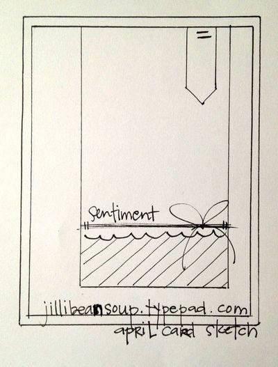 Jbs-april card sketch