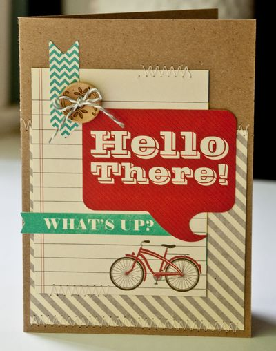Valerie-Hello There Card