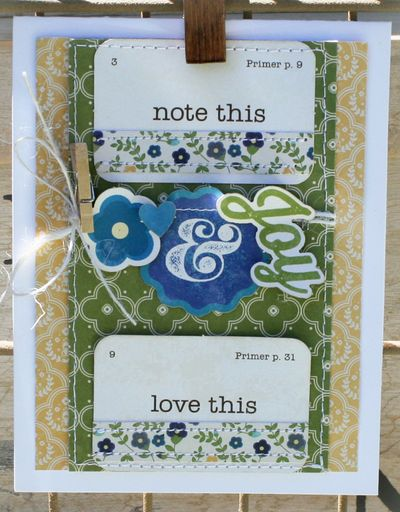Note this joy card danni reid