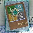 April hello card danni reid