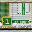 Kim Holmes-1st birthday card
