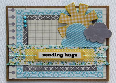 Kim Holmes-Sending Hugs Card