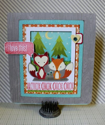 Tutorial 7 Love Being Together Card (505x600)