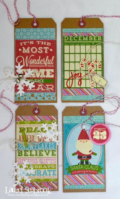 Laurel-Christmas Tags