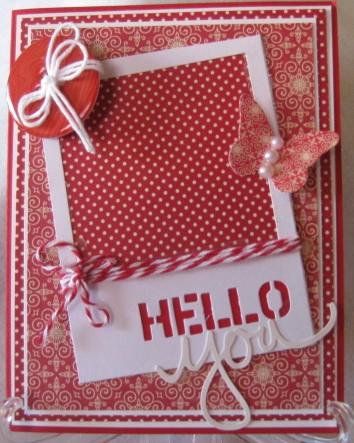 Hello You Card-Karen Zabuska-sketch 2