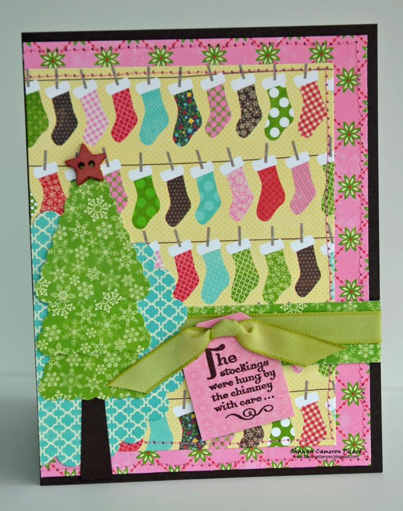 Stockings Card-Shannon Picard-sketch 1