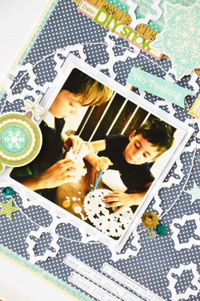 Jillibean Soup_Leanne Allinson_layout_diy snow_detail 1