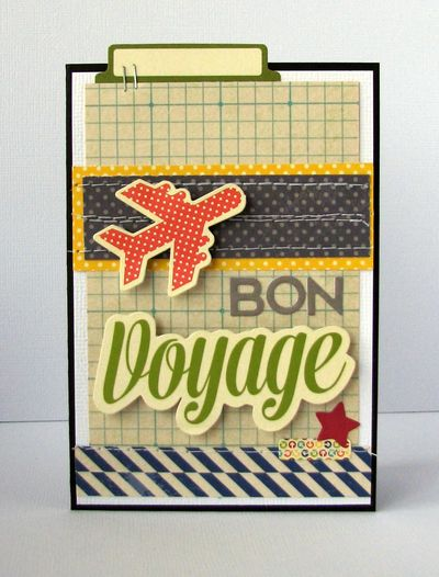 Nicole-bon voyage card